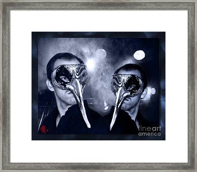 Without Hiding - Almost Tao Framed Print by Rosa Cobos