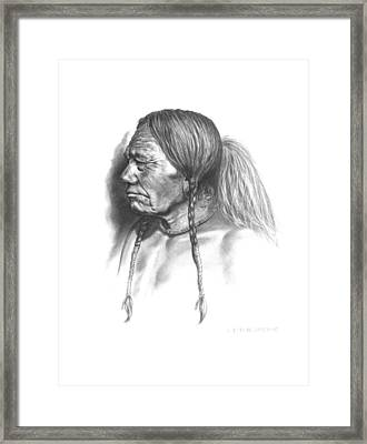 Wolf Child Framed Print by Lee Updike