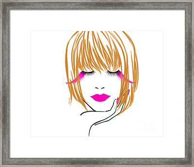 Woman 10 Framed Print by Cheryl Young