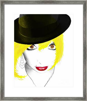 Woman 13 Framed Print by Cheryl Young