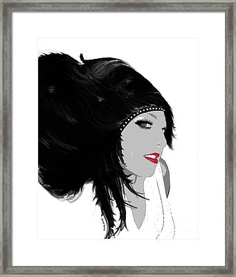 Woman 9 Framed Print by Cheryl Young