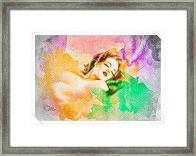 Woman's Soul Part 1 Framed Print by Mo T