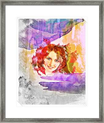 Woman's Soul Part 2 Framed Print by Mo T