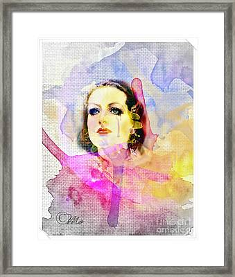 Woman's Soul Part 3 Framed Print by Mo T