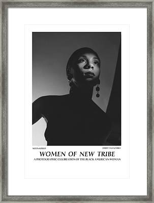 Women Of A New Tribe - Moon Kissed Framed Print by Jerry Taliaferro