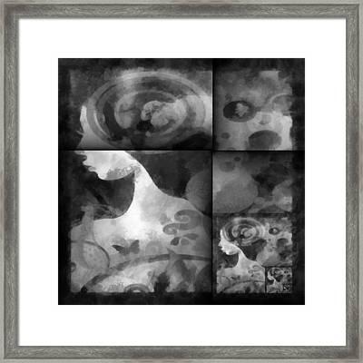 Wondering 2 Framed Print by Angelina Vick