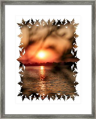 Woodmere Park Framed Print by Laurence Oliver