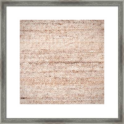 Wool Background Framed Print by Tom Gowanlock