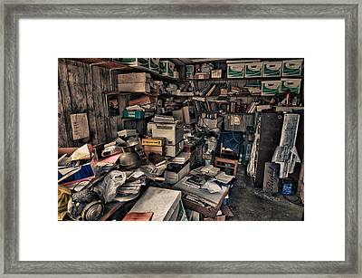 Workspace.3566 Framed Print by Gary LaComa