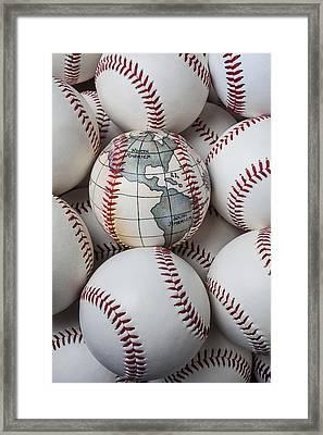 World Baseball Framed Print by Garry Gay