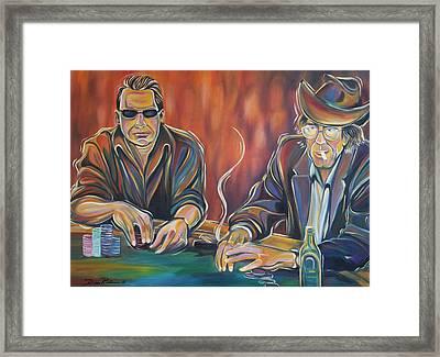 World Series Of Poker Framed Print by Redlime Art