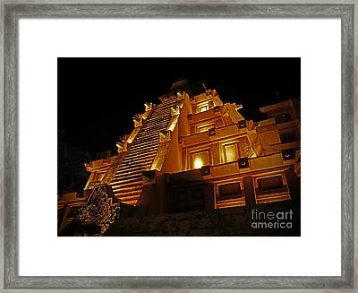 World Showcase - Mexico Pavillion Framed Print by AK Photography