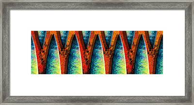 World Wide Web Framed Print by Paul Wear