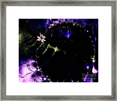 Wormhole Beyond . S4a.s10 Framed Print by Wingsdomain Art and Photography