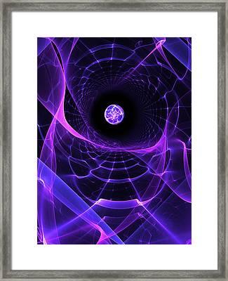 Wormhole Framed Print by Pam Blackstone