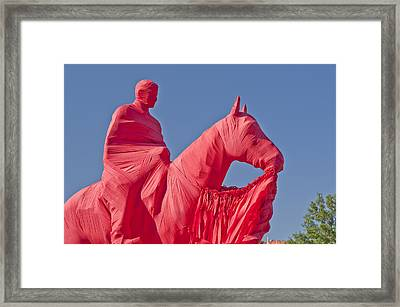 Wreck Em Tech Framed Print by Melany Sarafis