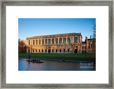 Wrens Library Framed Print by Andrew  Michael