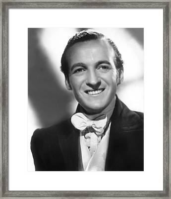 Wuthering Heights, David Niven, 1939 Framed Print by Everett