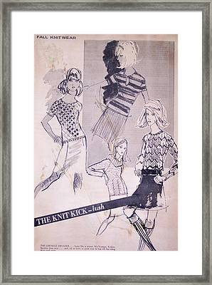 Wwd Sportswear Framed Print by Susan Dade