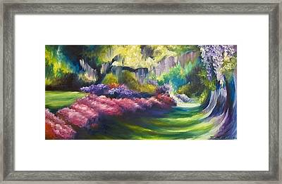 Wysteria Lane Framed Print by James Christopher Hill