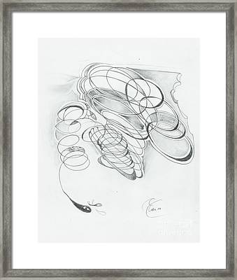 X 4 07 Framed Print by Xole