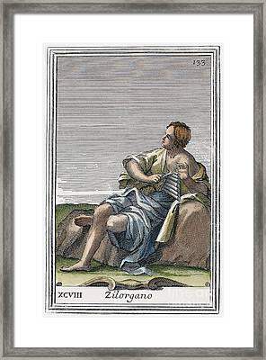 Xylophone, 1723 Framed Print by Granger