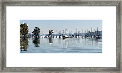 Yacht Club Framed Print by Bill Kennedy