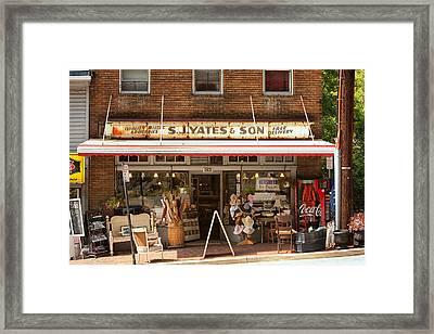 Yates Market Framed Print by Kenneth Losurdo