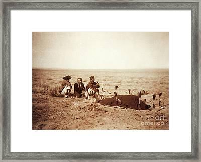 Yebichai Sweat, 1905 Framed Print by Photo Researchers