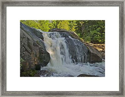 Yellow Dog Falls 4192 Framed Print by Michael Peychich