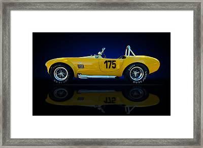 Yellow Snake Framed Print by Kurt Golgart