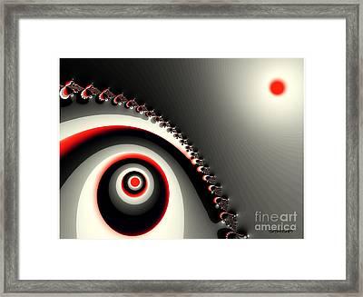 Yin Yang Framed Print by Tatjana Popovska