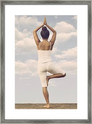 Yoga Framed Print by Joana Kruse