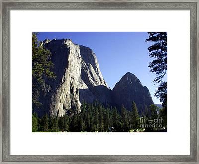Yosemite Park El Capitan  Framed Print by The Kepharts
