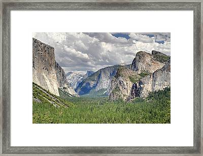 Yosemite Valley Framed Print by Pierre Leclerc Photography