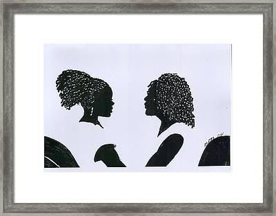 You Can Do It Framed Print by Rhetta Hughes