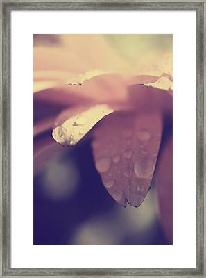 You Left Me Crying Framed Print by Laurie Search