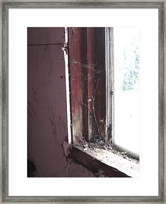 You Missed A Spot Framed Print by Guy Ricketts