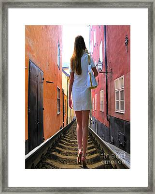 YOU Framed Print by Yury Bashkin