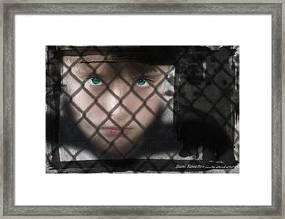 You'll Be Sorry Framed Print by Suni Roveto