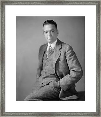 Young J. Edgar Hoover Ca. 1925 Framed Print by Everett