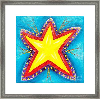 Your A Star Framed Print by Melle Varoy