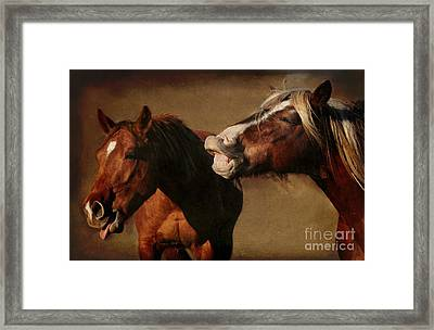 You're Too Funny Framed Print by Davandra Cribbie