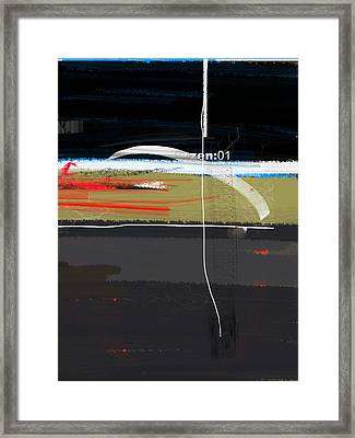 Zen Framed Print by Naxart Studio