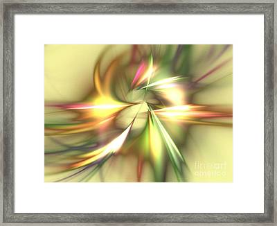 Zeus Framed Print by Kim Sy Ok