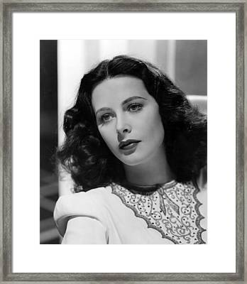 Ziegfeld Girl, Hedy Lamarr, 1941 Framed Print by Everett