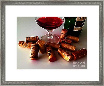 Zin Framed Print by Cheryl Young