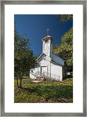 Zion Baptist Church Framed Print by Christopher Holmes