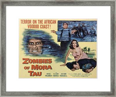 Zombies Of Mora-tau, Autumn Russell Framed Print by Everett