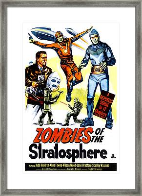 Zombies Of The Stratosphere, 1952 Framed Print by Everett